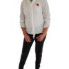 Blusen Damen Weiß mit schönen Details