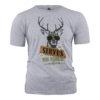 Trachtenshirt Herren Trachten Shirt Trachtenhemd Grau Baumwoll Motiv Kurzarm