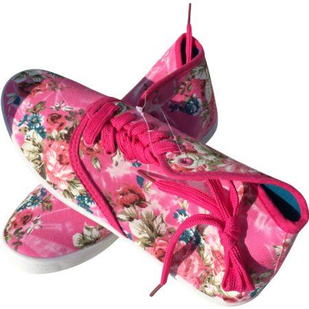 Sportschuhe Laufschuhe Ballerinas Vegan Blumen Chacks