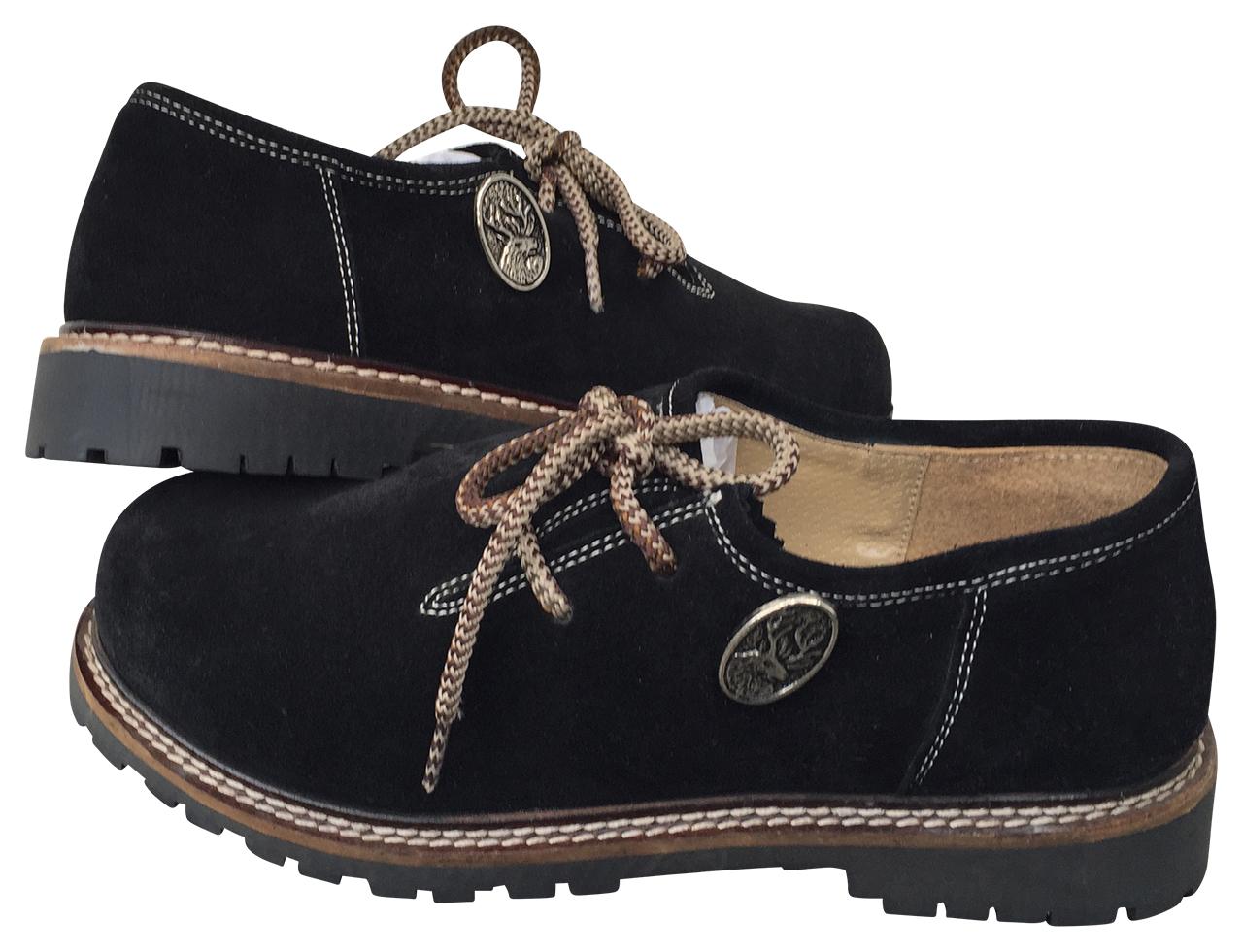 separation shoes a2306 04a3e Haferlschuhe mit Hirschsticker