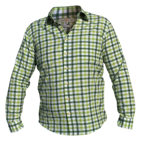 Karietes Trachtenhemd Almsach Grün