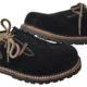 Haferlschuhe Männer, braun mit Pin: Toller Schuh mit seitlicher Schnürung