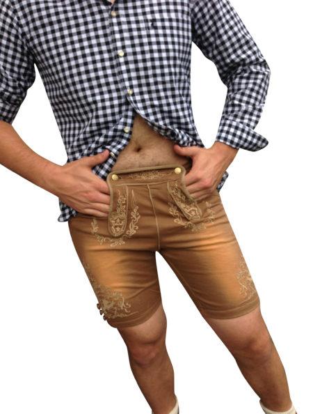 Herren Trachtenhemd Baumwolle Oktoberfest Hemden