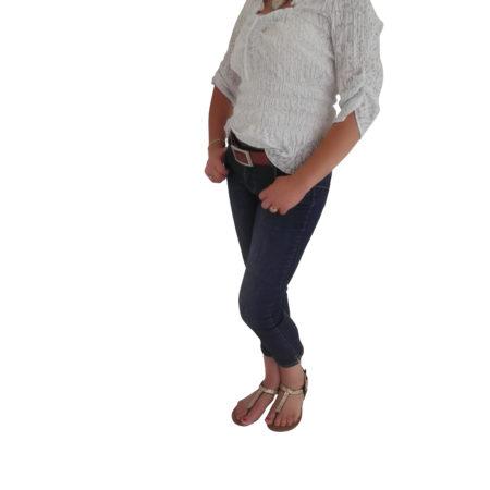 Extravagante Damen-Bluse