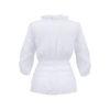 Damen Bluse Trachtenbluse Rückenansicht