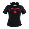 Trachten-Bluse mit roten Herz