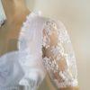 Dirndlblusen Damen Weiß