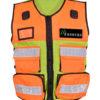 Security Westen Sicherheitswesten Pielini Arbeitsschutz Weste mit vielen Taschen