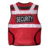 Sicherheitsweste Security Weste Warnschutzweste Rettungsweste Arbeitsschutz Reflektierend Winddicht Funktionell hohe Sichtbarkeit