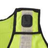 Kennzeichnungsweste Warnsicherheitsweste sicherheitsweste mit Taschen Reißverschluss winddicht
