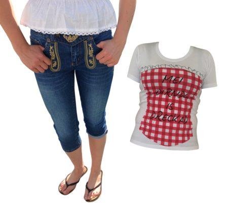 Dirndl Trachtenlederhosen Jeans Trachtenshirt