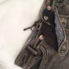 Trachtenhose Trachtenjeans Damen Hose Jeans Shorts Vegan Braun Denim Waschbar